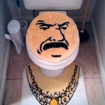 ATHF Carl Toilet Cover