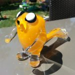 Adventure Time Jake Glass Pipe 1
