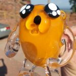 Adventure Time Jake Glass Pipe