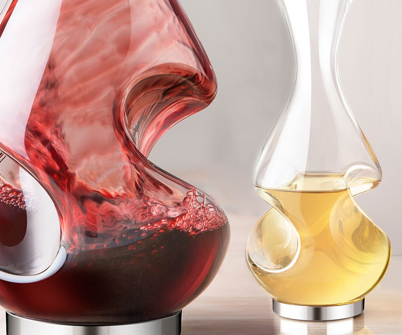 Aerator And Decanter Glass