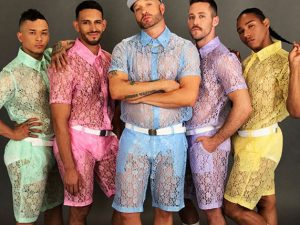 All Lace Men's Clothing