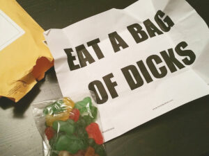 Anonymously Send A Bag Of Dicks 1