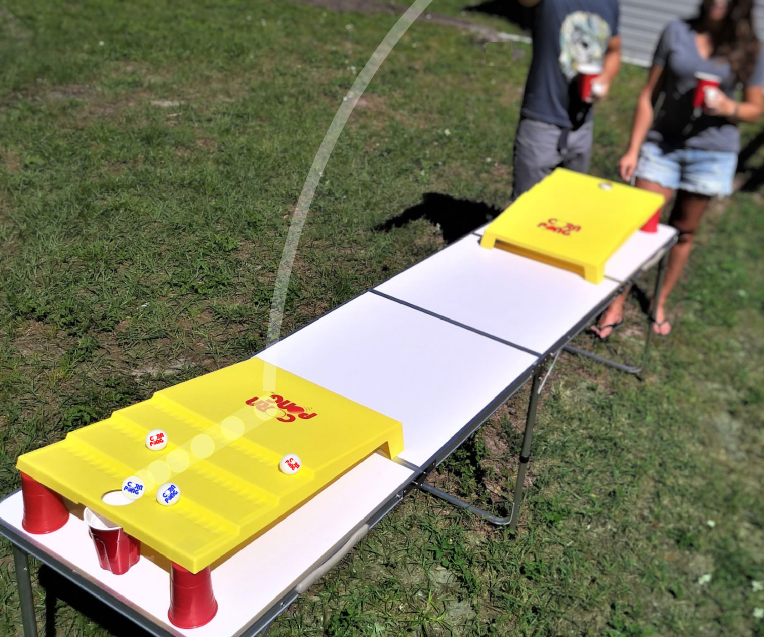 Beer Pong Corn Hole
