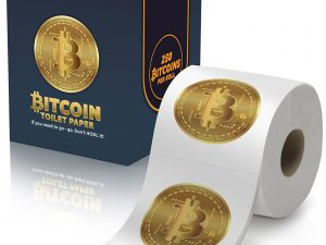 Bitcoin Toilet Paper Roll