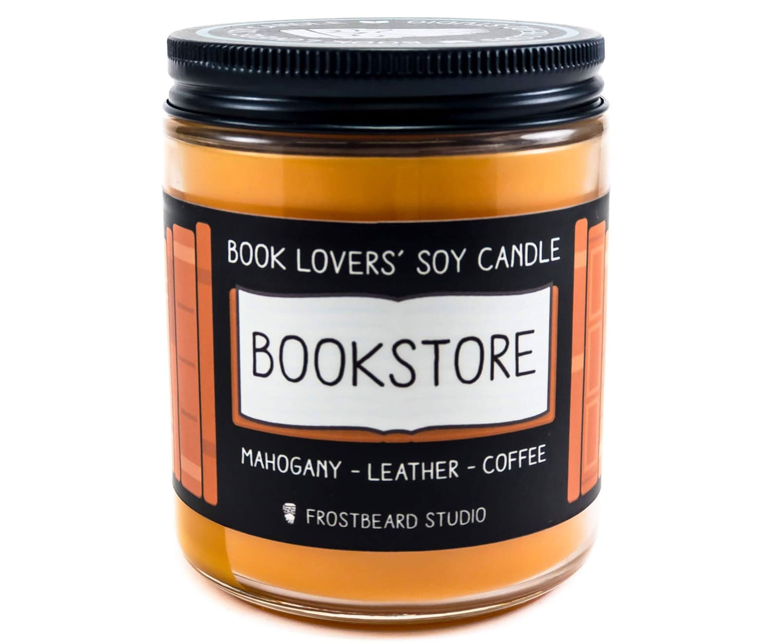 Bookstore Scented Candle