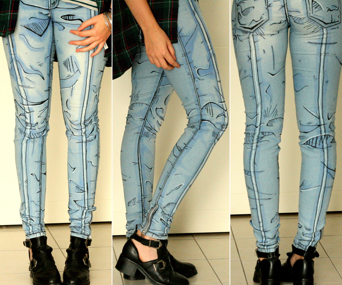 Cel Shaded Jeans 1