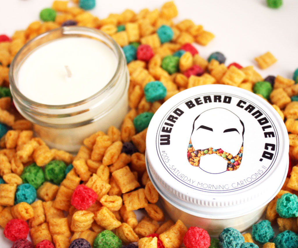 Cereal Scented Candle 1