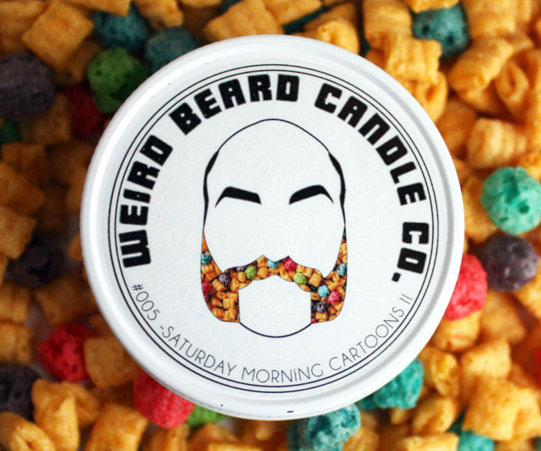 Cereal Scented Candle