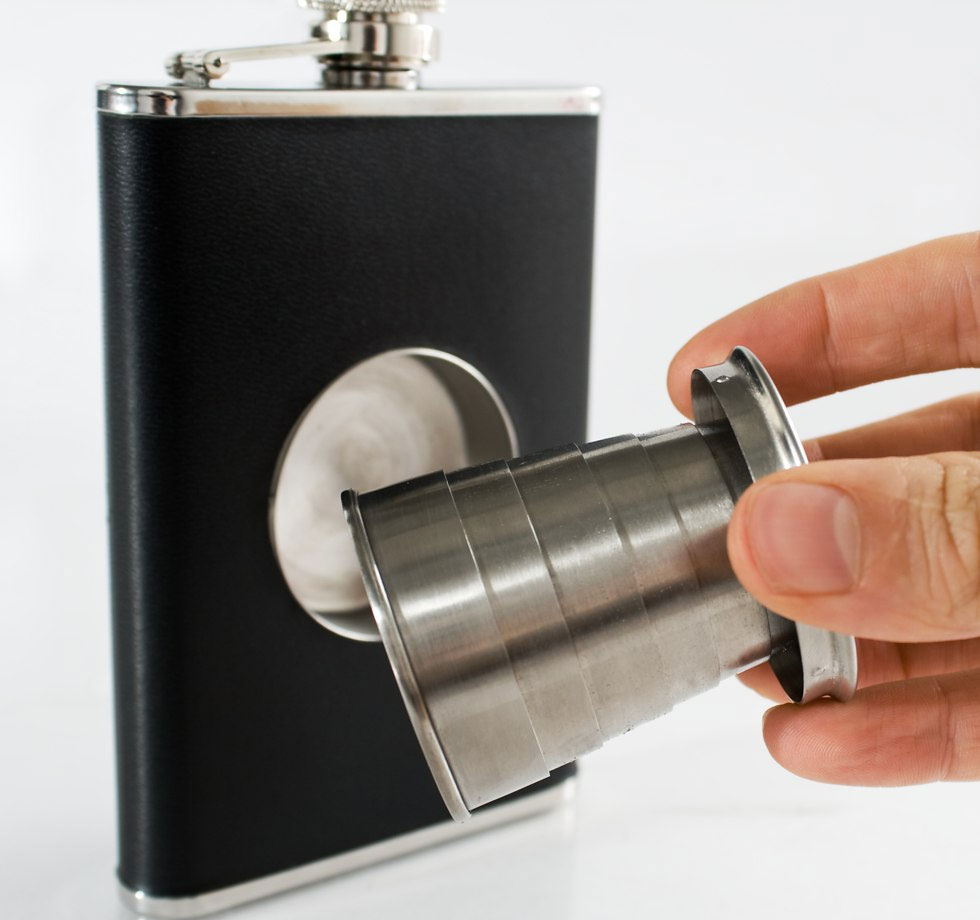 Collapsible Shot Flask 1
