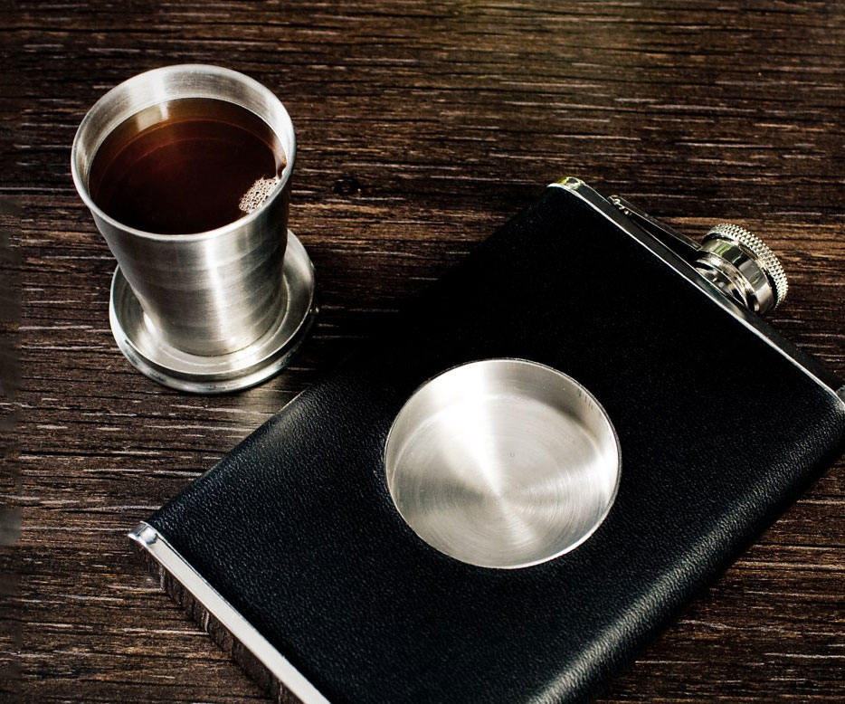Collapsible Shot Flask