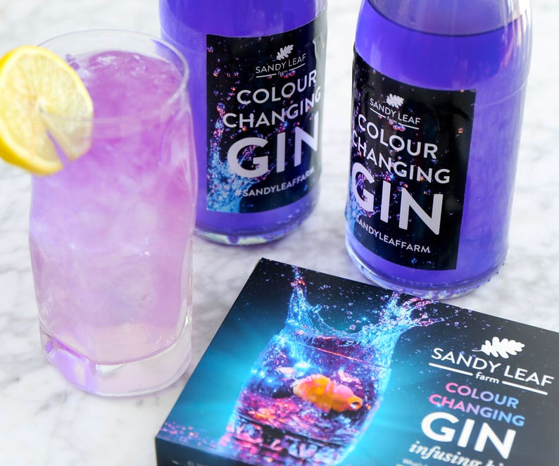 Color Changing Gin Infusing Kit