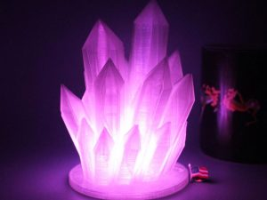 Color Changing LED Crystal Lamp