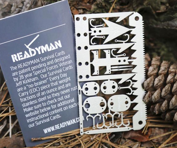 Compact Wilderness Survival Tool 1