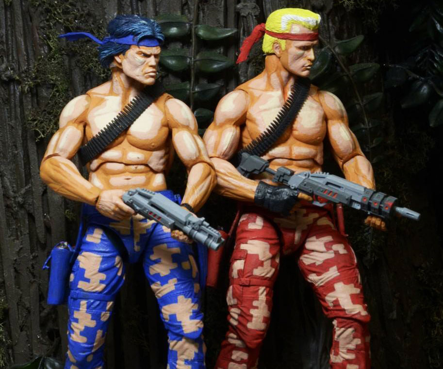 Contra Action Figures 1