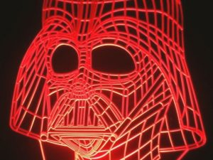 Darth Vader Color Changing Table Lamp 1