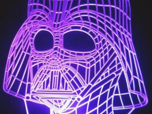 Darth Vader Color Changing Table Lamp