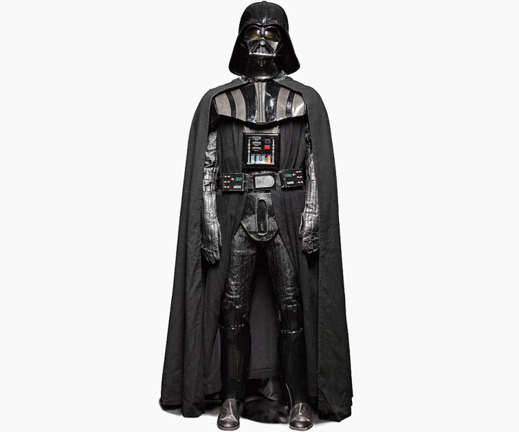 Darth Vaders On Screen Suit 1