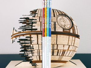 Death Star Bookends 1