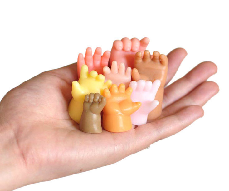 Doll Hand Shaped Soaps