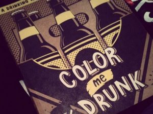 Drinking And Drawing Coloring Book 1