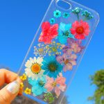 Dry Pressed Flowers iPhone Case