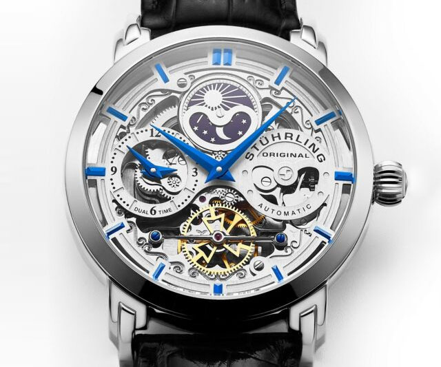 Exposed Gears Skeleton Watches