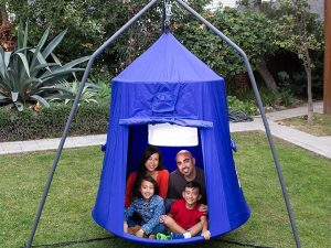 Family-Sized Hanging Tent