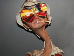 Fear And Loathing Movie Sculpture