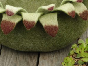Felted Cat Bed 1