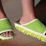Floor Cleaning Slippers 2