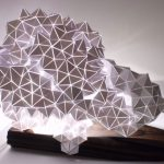 Geodesic Table Light Sculpture 1