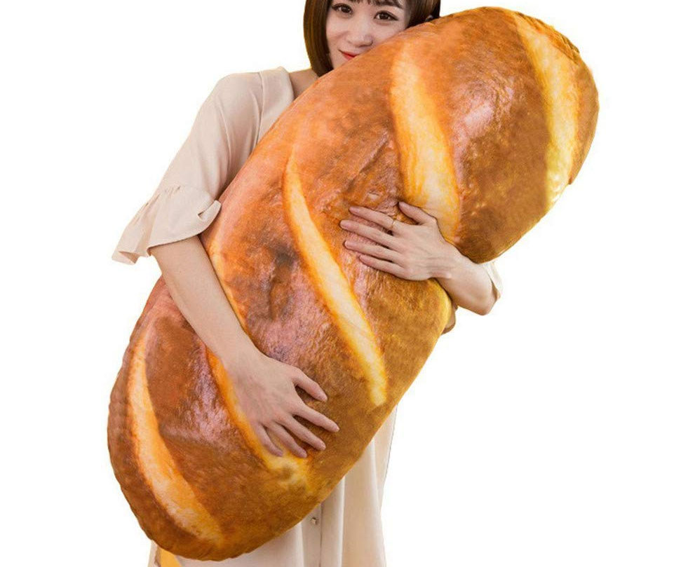 Giant Bread Loaf Pillow 1