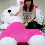 Giant Hello Kitty Pillow Bed 2