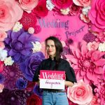 Giant Paper Flowers Backdrop 2