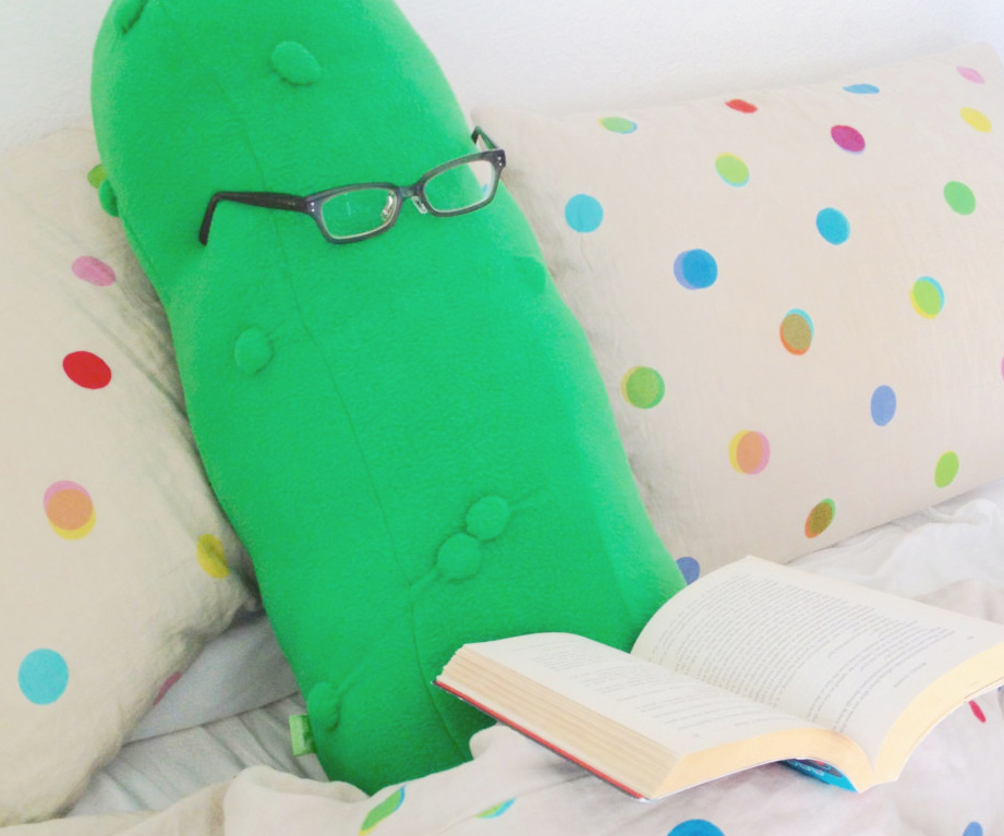 Giant Pickle Body Pillow
