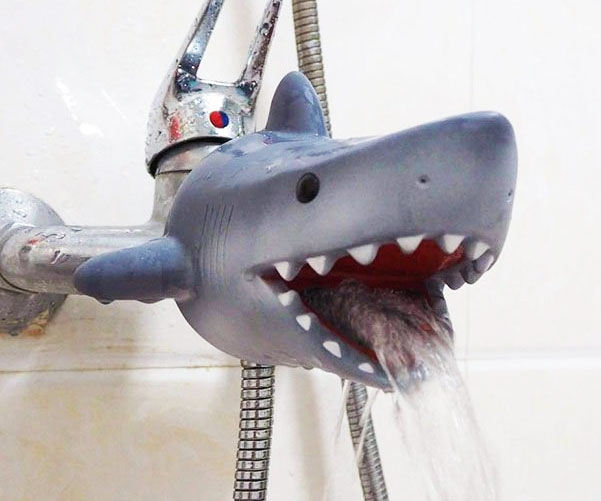 Great White Shark Faucet Cover