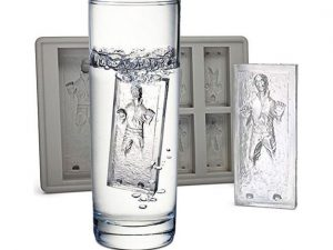 Han Solo Trapped In Carbonite Ice Tray