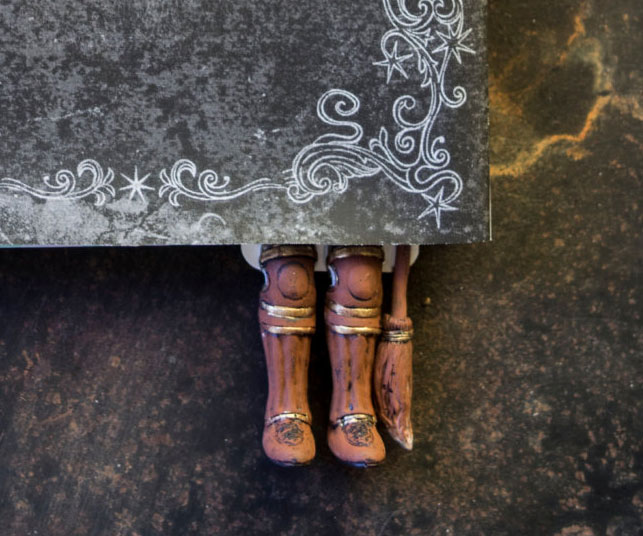 Harry Potter Boots Bookmark 2