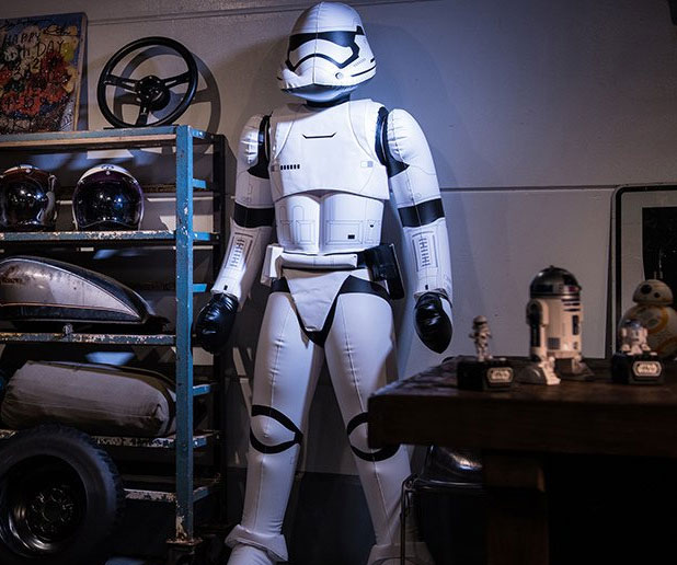 Inflatable First Order Stormtrooper