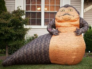 Inflatable Jabba The Hut