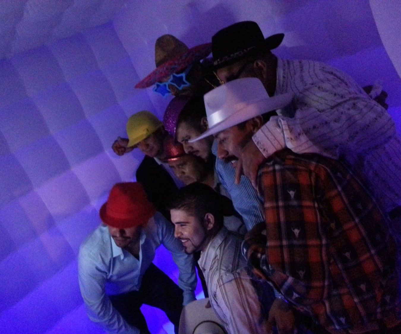 Inflatable Led Photo Booth 1