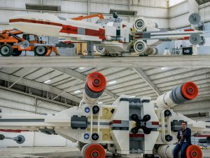 Life Size Lego Star Wars X Wing 1