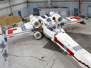 Life Size LEGO Star Wars X-Wing