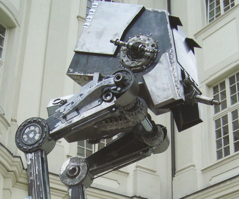 Life Size Star Wars AT-ST