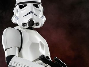 Life Size Stormtrooper Statue 1