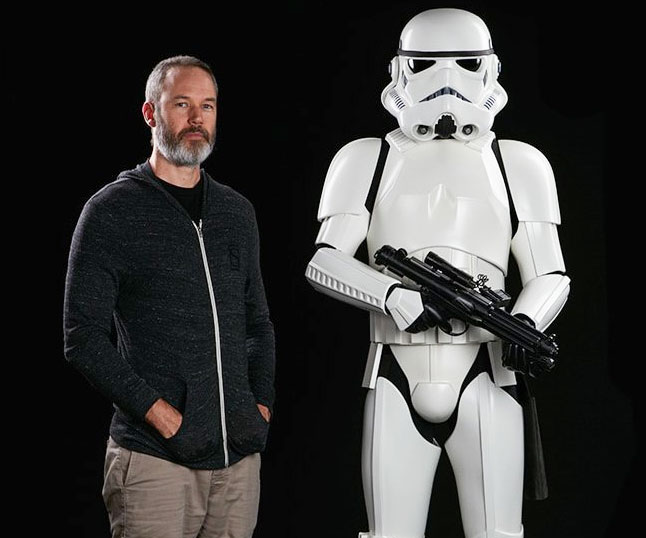 Life Size Stormtrooper Statue