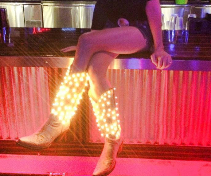 Light Up Cowgirl Boots 1