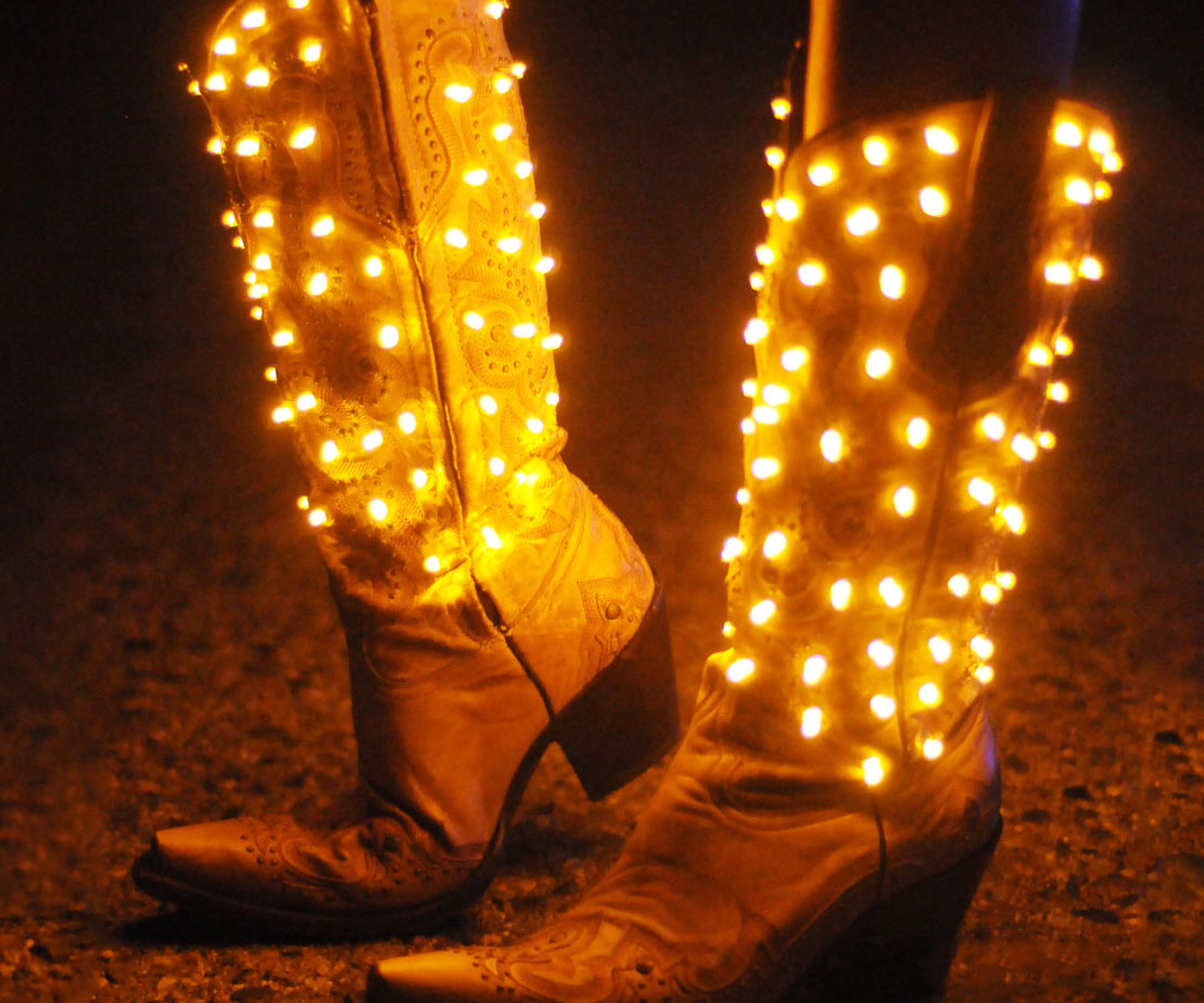 Light Up Cowgirl Boots