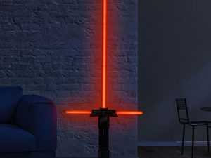 Lightsaber Floor Lamp