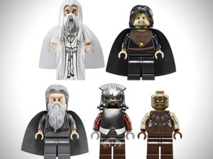 Lord Of The Rings Legos 1